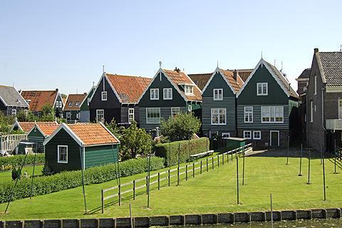 Marken, el típico pueblo holandés