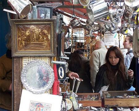 Portobello market el atractivo mercadillo de londres - Mercado antiguedades barcelona ...