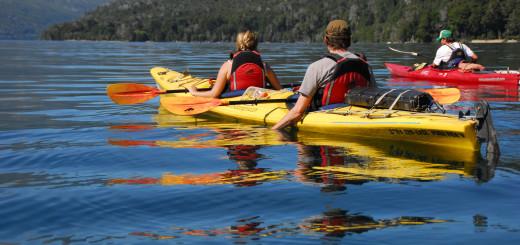 Excursiones en Kayak en Bariloche