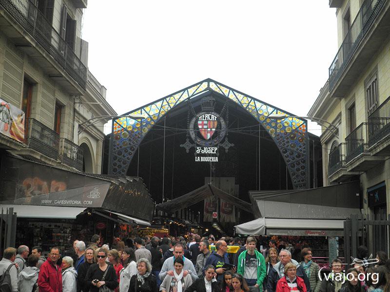 """""""Mercat de Sant Josep"""" o """"La Boqueria"""""""