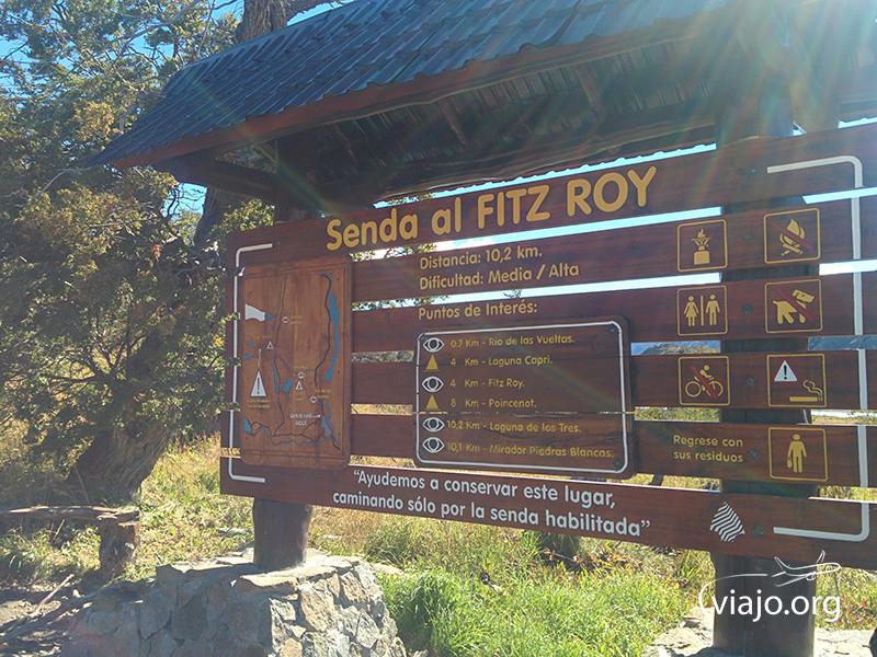 Sendero al Fitz Roy