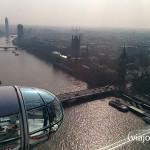 Vista del Big Ben y el Palacio de Westminster