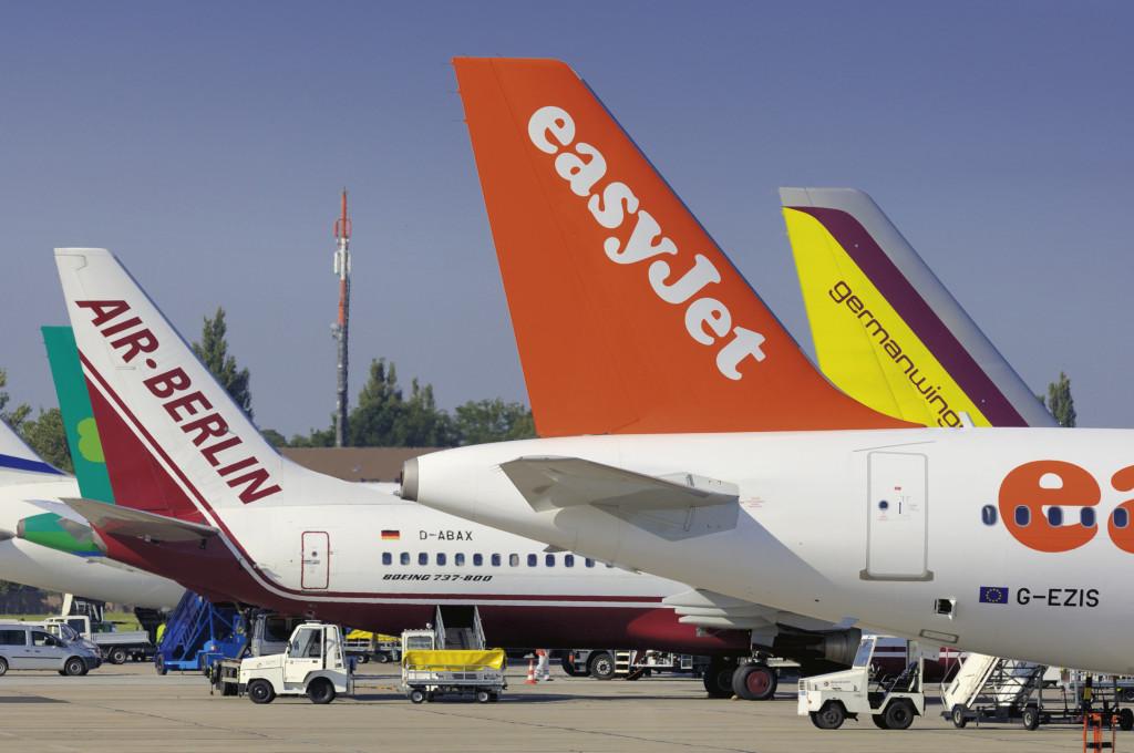 Aerolíneas Low Cost en Europa