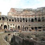 Coliseo Romano - Gradas