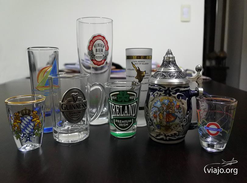 Souvenirs - Chops y vasos