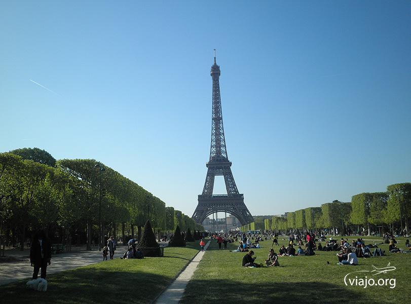 Torre Eiffel - Campo de Marte