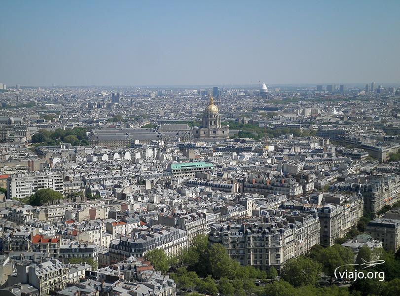 Torre Eiffel - Vista de París