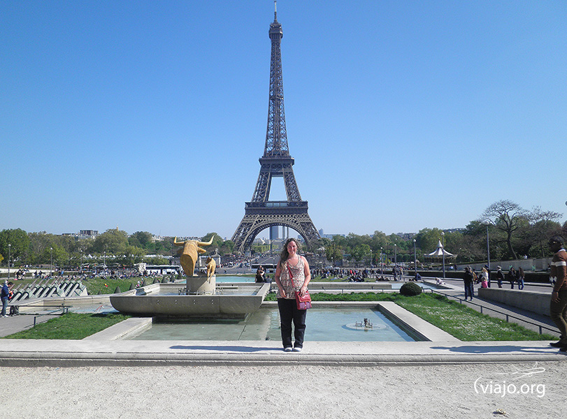 Torre Eiffel - Jardines del Trocadero