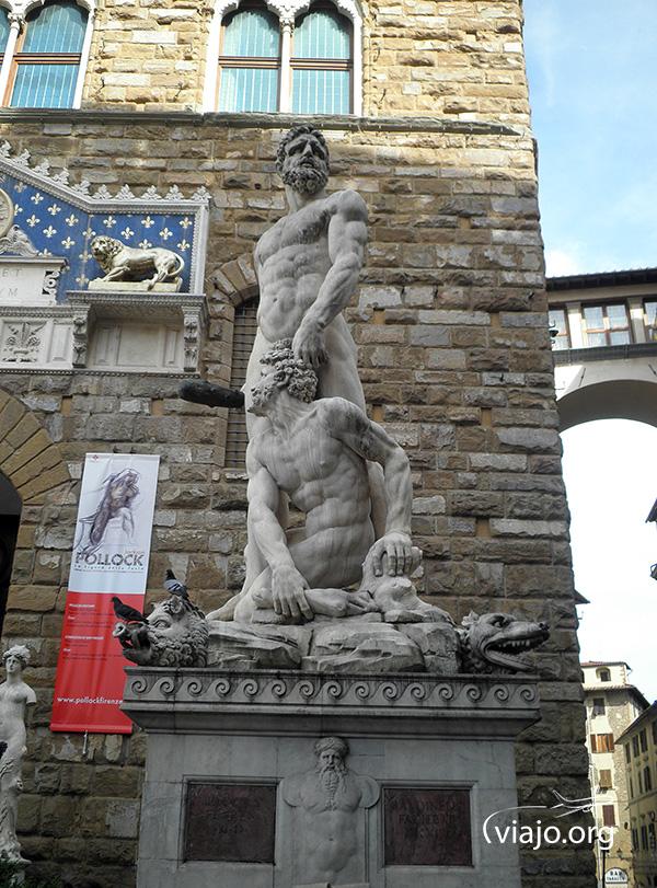 Florencia - Hércules y Caco