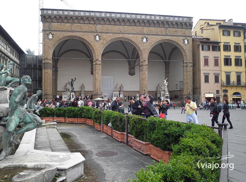 Florencia - Loggia della Signoria