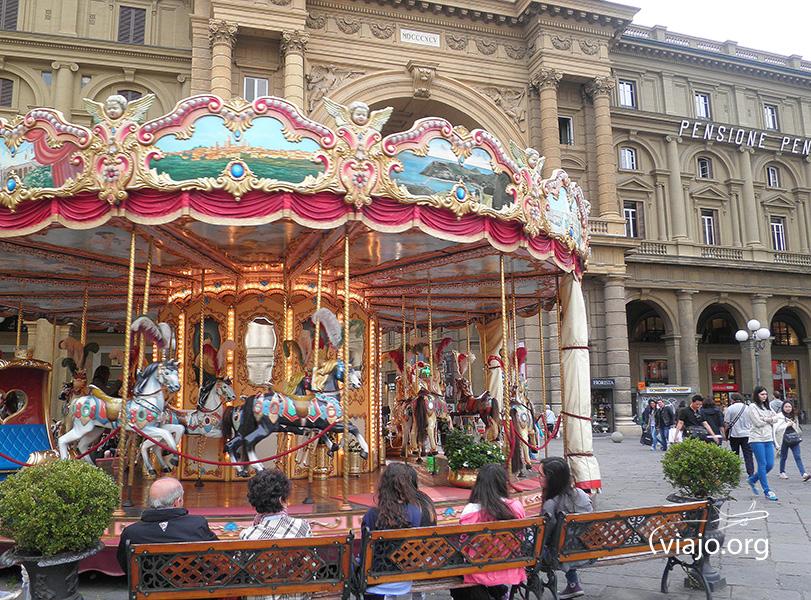 Florencia - Piazza della Repubblica