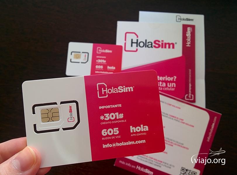 Chip HolaSim