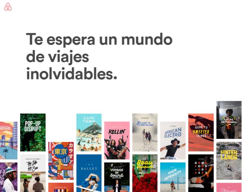 Airbnb - Experiencias