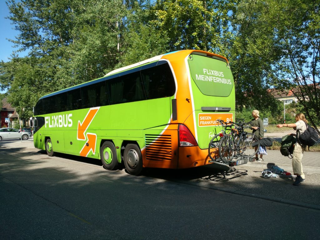 FlixBus, transporta tu bicicleta